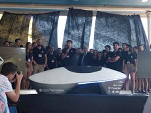 Valentia, el nuevo pod de Hyperloop UPV, patrocinado por Noksel España